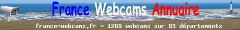 France Webcams, l'annuaire des webcams de France par région et département