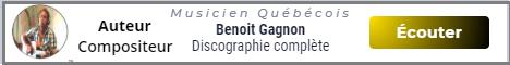 Ben Gagnon auteur compositeur